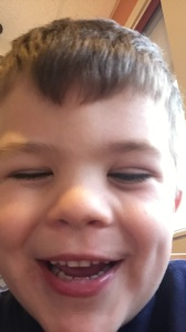 """We went to eat at I hop Gabe insisted I Hop is his favorite resteraunt be fore eating he said """"Let Me Take A Selfie"""""""